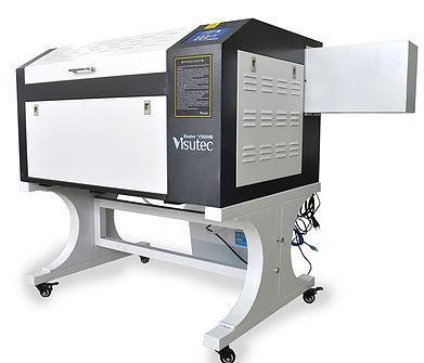 Maquina Router Laser CNC VS6040 Corte e Gravação 60x40cm 60w Com Eixo