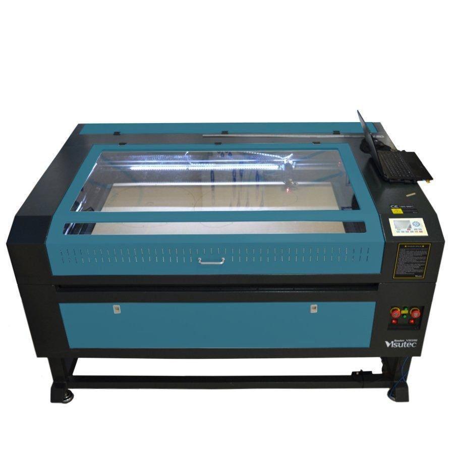 Máquina Router Laser CNC VS1390 Corte e Gravação 130x90cm 100w