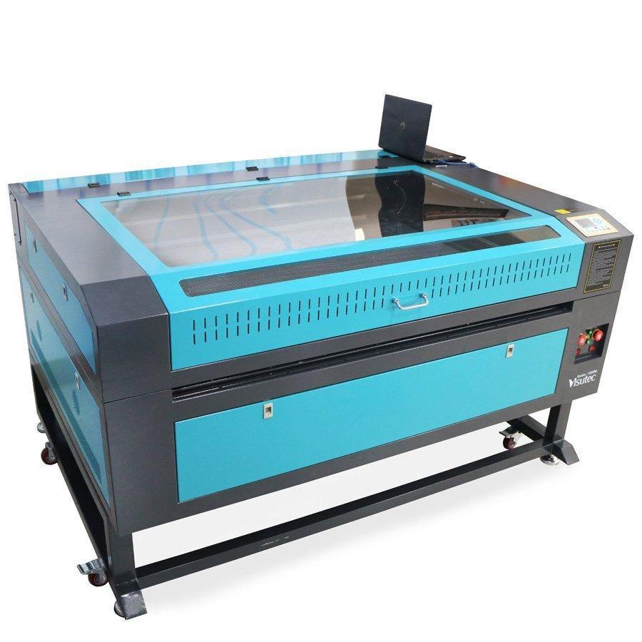 Máquina Router Laser CNC VS1390 Corte e Gravação 130x90cm 130w